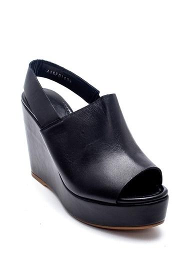 Derimod Kadın Sandalet (01-31) Casual Siyah